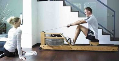 Maquina de remo Water Rower