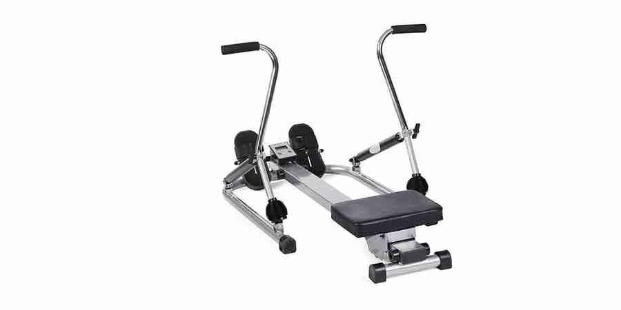 Máquina de remo con tiro escandinavo, remo t gym, maquina de remo musculos