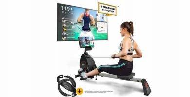 Entrenos en streaming con la sportstech rsx400
