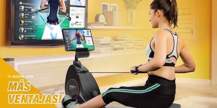 entrenamientos interactivos con la sportstech rsx 400