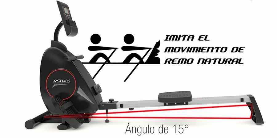movimiento natural de la sportstech rsx400