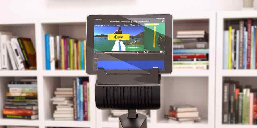 pantalla multimedia del remo sportstech rsx 400