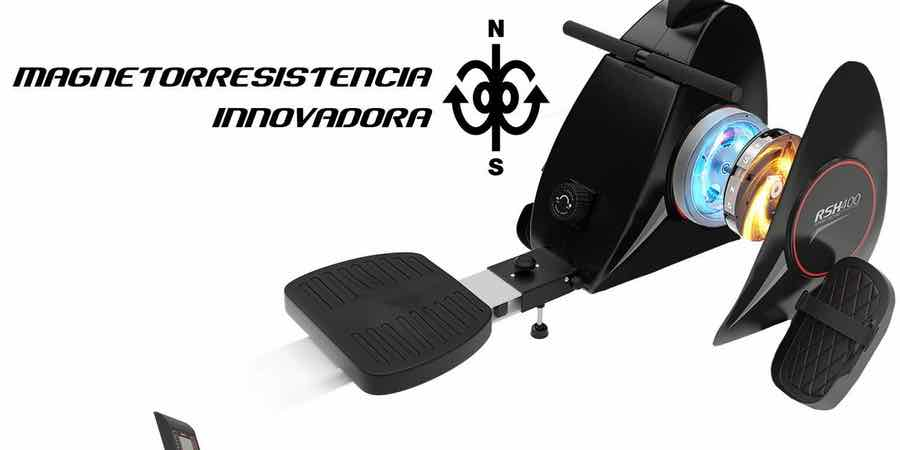 resistencia magnética de la sportstech400