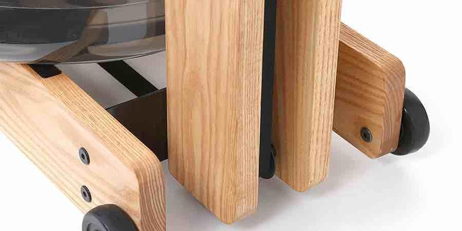 diseño del remo de agua con maderas ecológicas