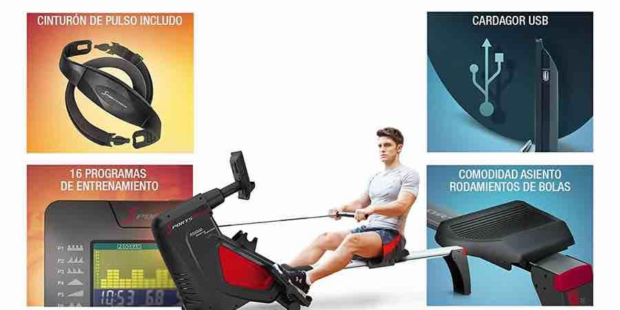 Beneficios de remo Sportstech rsx500