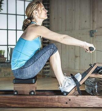 Beneficios del remo indoor en casa, que músculos trabajas con la máquina de remo, beneficios del entrenamiento con remo